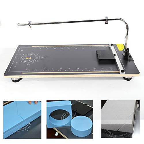 Meiney Hot Wire Foam Cutter Table Foam Cutter Styrofoam Cutting Machine Working Table Craft Machine Stand DIY Table Tool for Cutting Foams, Sponge, Pearl Cotton and KT Board