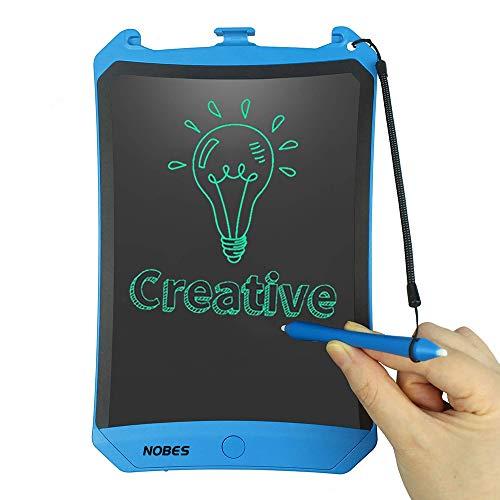 NOBES Tableta de Escritura LCD 8.5 Inch, LCD Tablero de Dibujo Gráfica, Pizarra Magica para niños diseño, Juguetes Educativo, Mensaje Doodle Pad Electrónico, para Niños, Clase, Oficina, Casa (Negro)