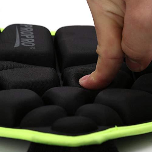 Alomejor Kinder Gepolsterte Hüfte 3D Gepolsterte Hüfte Schutzshorts Schutz Butt Pad Anti-Fall-Hose Hip Pad für Skateboard Skate Skate Snowboard