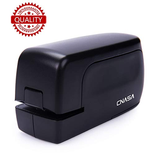 Electric Stapler,CNASA Portable Full Strip Staple Capacity 24 Sheets Jam-Free for Office,Professional,Classroom School and Home Use,AC Adapter( Included)or Battery Operated (Not Included)