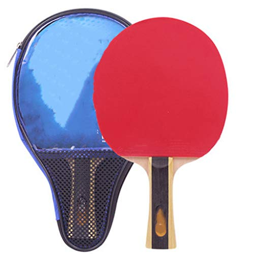 Read About CVEUE Ping Pong Paddle 1 Star Red Double Happiness Table Tennis Racket One Star Straight ...