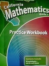 California Mathematics Grade 7: Practice Workbook