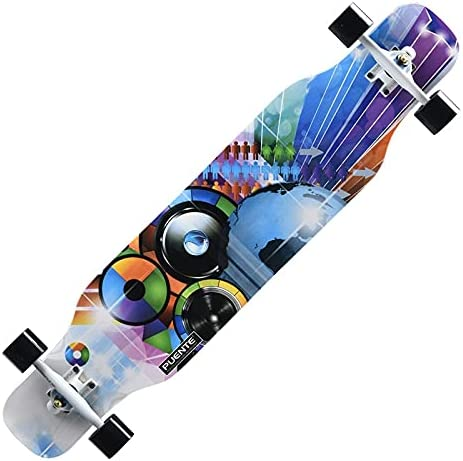 Animer and price revision Skateboards 42 Inches Longboard Complete Down Fees free Through Long Drop