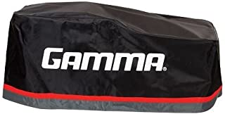 Protective Cover for Upright Stringing Machine: Gamma Sports Black & Red Cover for Tennis & Badminton Racquet Stringer Machines - Fits 700Es, 6004, 6002Es, 6002, 5003, 5002, Progression & X-Series