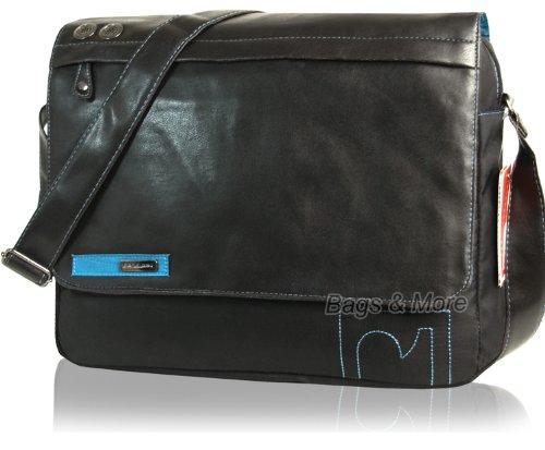 DANIEL RAY Umhängetasche BOUND Schultertasche Laptop Tasche Schwarz