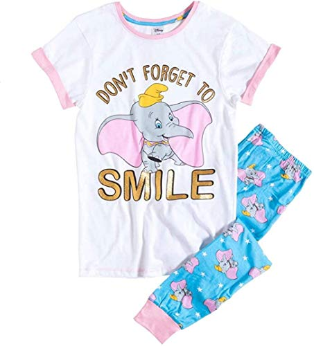 Cup of Tees Damen Dumbo Lied Dont´ T Vergiss Sich Smile Zwei Satz Pyjama - Multi, 36-38