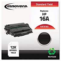 7516A Compatible, Remanufactured, Q7516A (16A) Laser Toner, 12000 Yield, Black (並行輸入品)