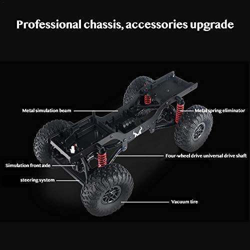 RC Auto kaufen Crawler Bild 3: jinclonder ferngesteuerte Autos, Land Rover Defender Modellauto Anniversary Edition, RC Rock Crawler Buggy, Offroad-Militär-Truck/Allround-Simulationssteuerung*