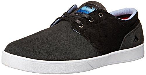 Emerica  The Figueroa,  Herren Skateboardschuhe , Grau - Dark Grey/Black/White - Größe: 41 EU