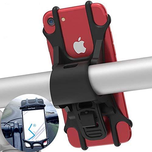 Porta Cellulare Bici,Supporto Bici Smartphone, Universale Supporto Telefono da Bici e Moto, Porta Cellulare Moto e Bici Ciclismo per Tutti Telefonini e Dispositivi Elettronici da 4.5-6.0 Pollici