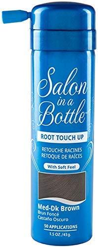 Salon in a Bottle Root Touch up Hair Spray Medium/Dark Brown by Salon in a Bottle