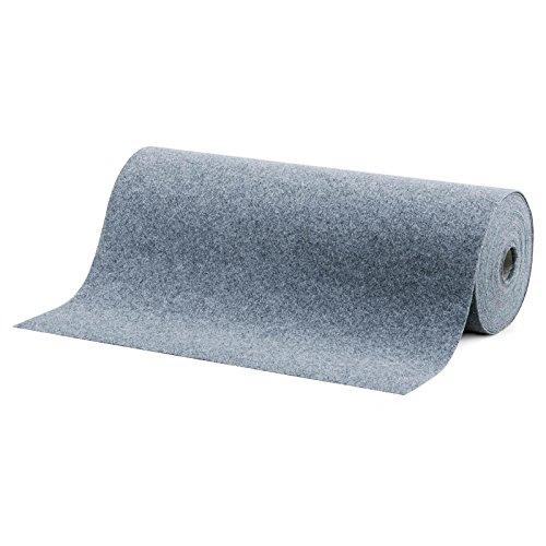 Rasenteppich/Kunstrasen Farbwunder Royal - Zuschnitt nach Maß - grau - 200x450cm