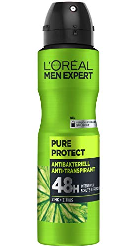 L'Oréal Men Expert Deospray Pure Protect, 150ml