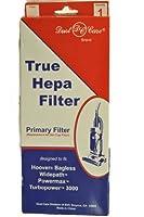 Hoover Primary True HEPAフィルター モデルU5344 バッグレスワイドパス パワーマックス ターボパワー3000用 ダストケア交換ブランド 直立型掃除機にフィットするように設計されています フィルターはダストカップ交換用。