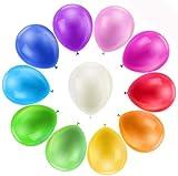 Bunte Luftballons, 110 Stück Bun...