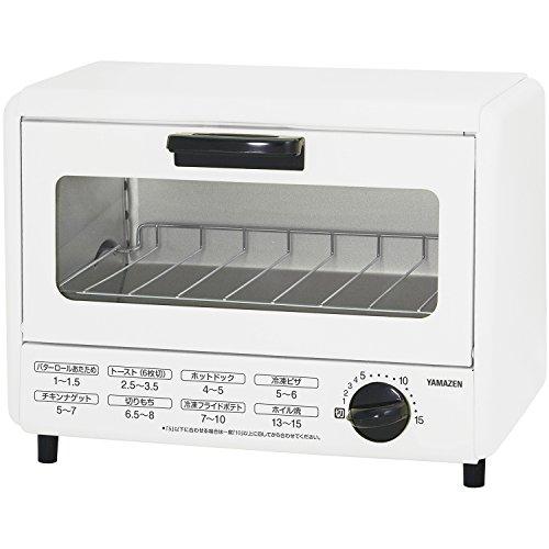 [山善] オーブントースター 860W ホワイト YTA-860(W) [メーカー保証1年]