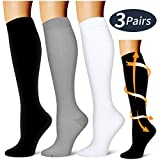 BLUETREE Compression Socks,(3 pairs) Compression Sock for Women & Men,Best Medical, Nursing, for...