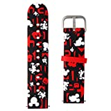 GizmoWatch Soft Band for GizmoWatch - Disney Mickey Mouse/Kid Size - Black/Red