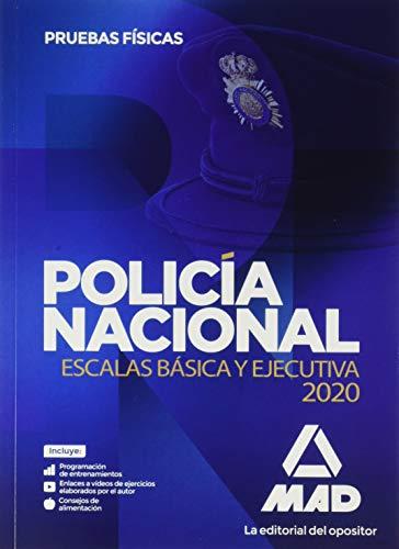 Policía Nacional Escalas Básica y Ejecutiva. Pruebas físicas