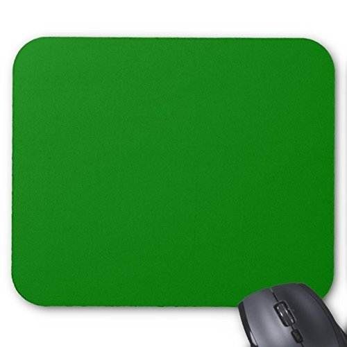 Green. Elegant Solid Color Green. Fashion Trends Mouse Pad