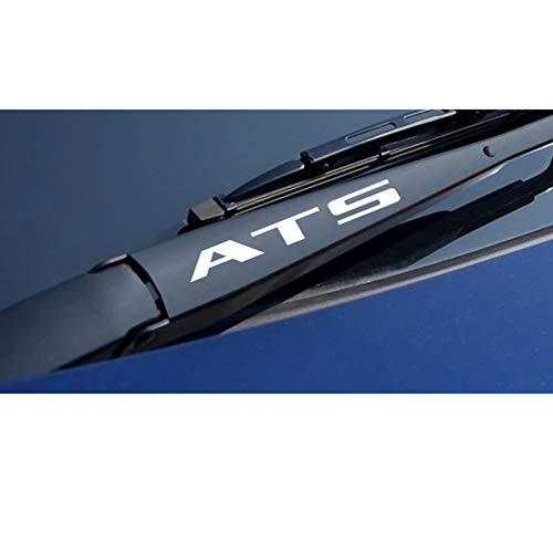 SLONGK 4PCS Auto Sport Decals Autofensterwischer Reflektierende Vinylaufkleber, für Cadillac ATS Cts Escalade XTS XT4 XT5 CT6 Autozubehör