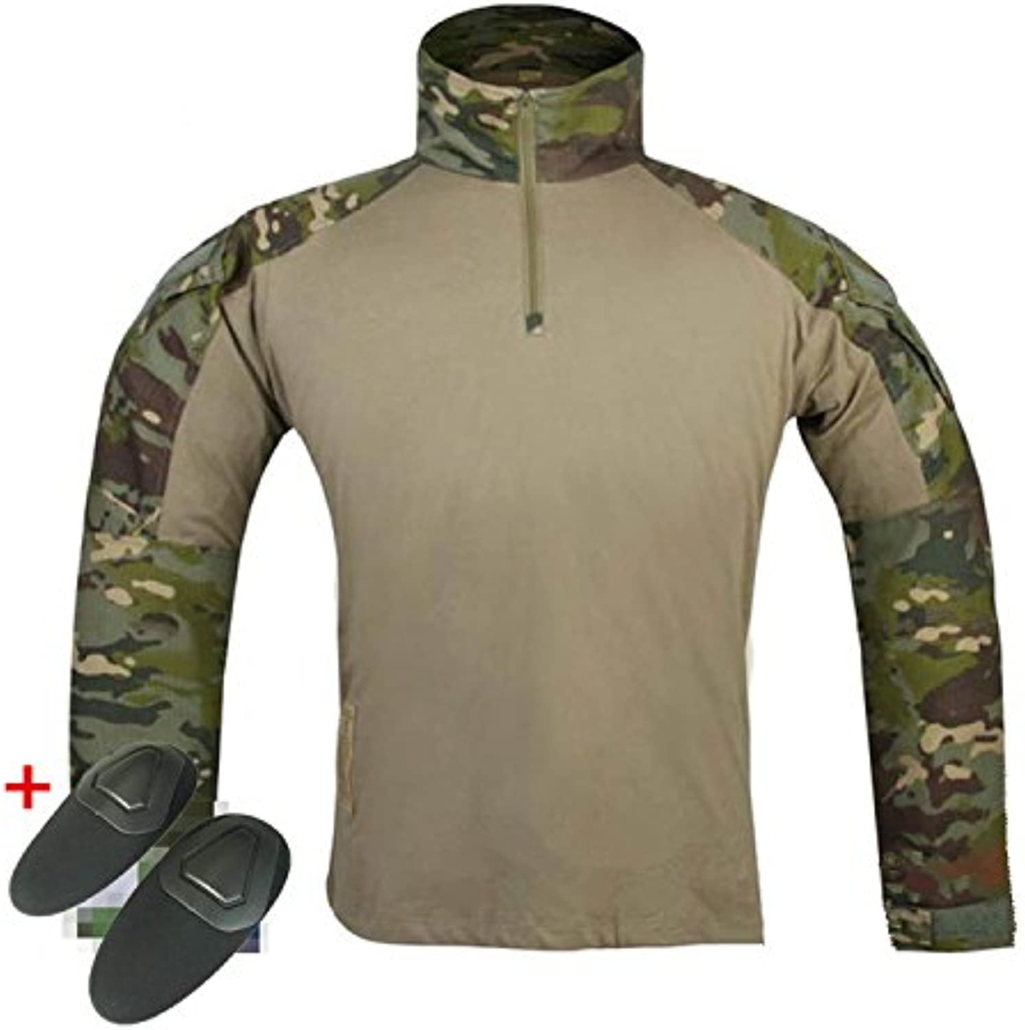 H World Shopping Emerson Military Mens BDU Gen3 G3 Combat Shirt w Elbow Pads
