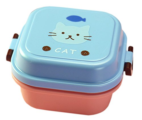 Blancho [Cat] Multifonctionnel Bento / Lunch Box Kid / Conteneurs Fruit / Salade / Snack