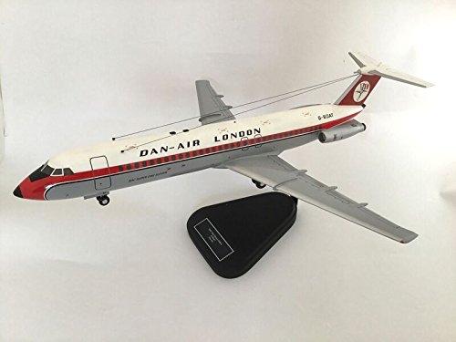 BRAVO Delta BAC1–11Dan Air Modell Flugzeug Maßstab 1/63