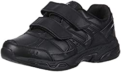 powerful Avia Women's Catering Shoes Avi-Union Strap II Black / Gray 8 Width USA