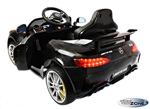 RC Auto kaufen Kinderauto Bild 5: ToyZone Kinderfahrzeug 12V Kinderauto Kinder Elektro Auto Mercedes GTR AMG MP3 USB Ledersitz Eva Gummiräder 2,4 GHZ*