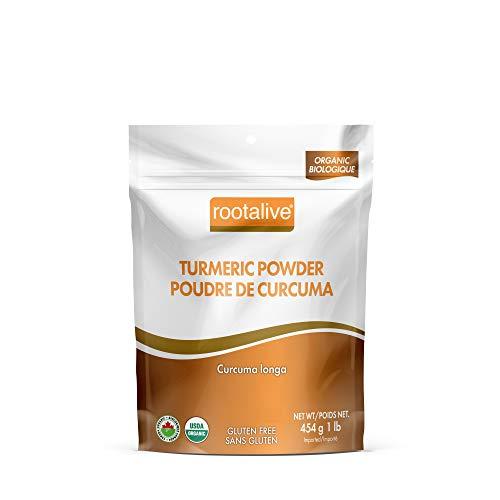 Rootalive Organic Turmeric Powder, 454g