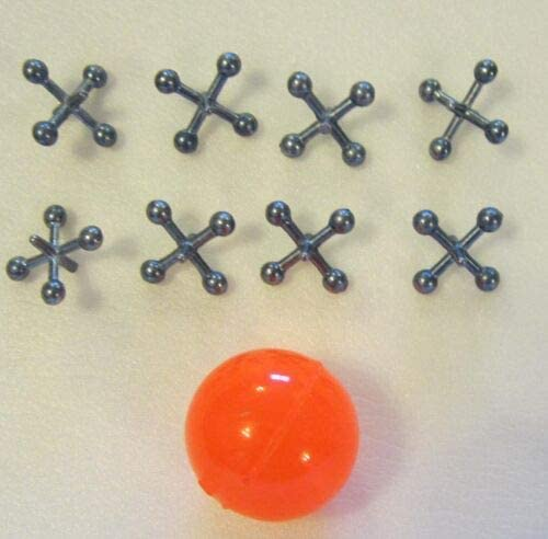 About 2 Sets of Metal Steel Jacks RED Ball Rubber with Gam Super Award-winning Limited time for free shipping store