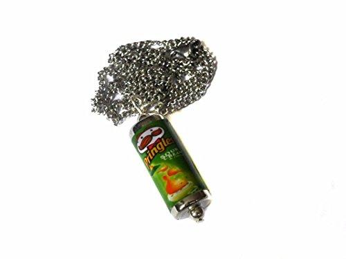 Mixed Up Dolly Pringles - Collar con Forma de Tina, Color Crema Agria y cebollino