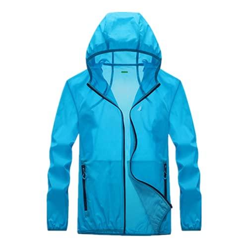 Bolsillo de secado rápido de la ropa de la protección solar ultrafino chaqueta de protección solar