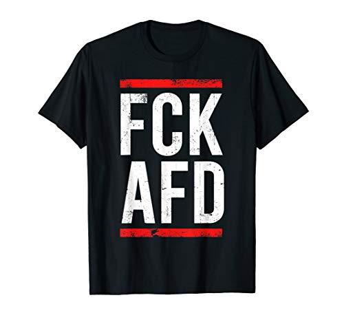 Fck Afd Politik Politik Für Gegner Männer Frauen T-Shirt