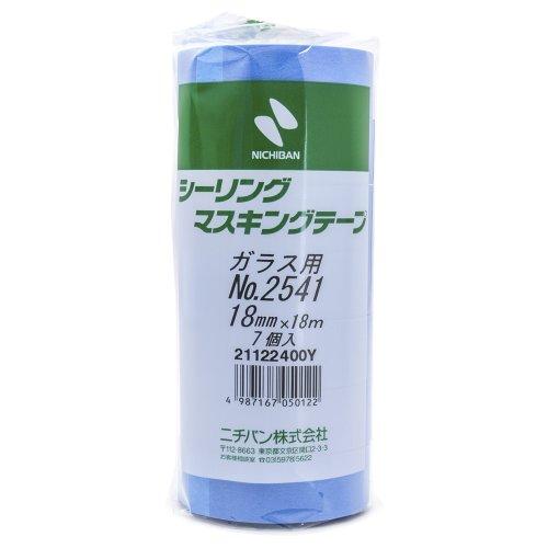 7 B_nde Fall 18mm x 18m 2541-18 NICHIBAN Dicht Klebeband f_r Glas (Japan-Import)
