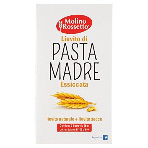 Molino Rossetto Lievito Madre, Essiccato - 105 gr