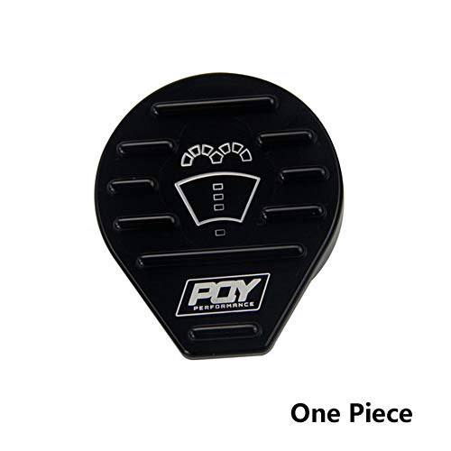 PQY PERFORMANCE Tank Cap Bottle Cap Oil Cap for VW CC Golf GTI Audi Seat Skoda 2.0T Scirocco EA888 EA113 Engine Aluminum Protect Cap Cover (Bottle Cap)