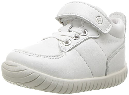 Stride Rite Baby SRTech Bailey Ankle Boot, White, 5 Medium US Toddler
