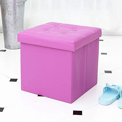 yanpengjuan Cambia Zapatos Taburete contenedor Banco Simple sofá reposapiés Zapatero Taburete salón uñas Taburete