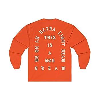 HypeMonsterz I Feel Like Pablo Long Sleeve T-Shirt - Kanye West Merch The Life of Pablo Orange