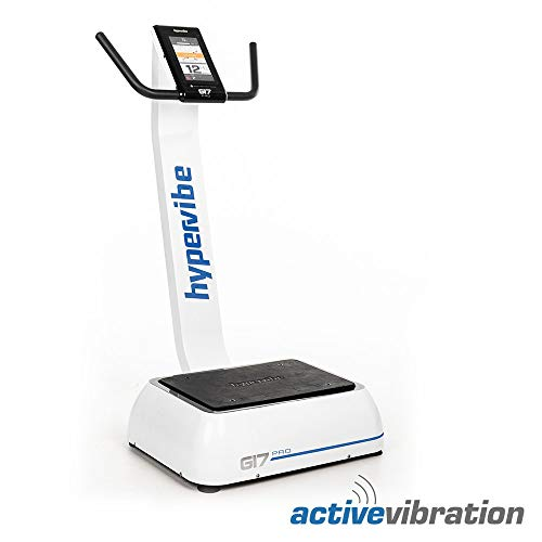 Hypervibe G17 Pro V2 - Intelligent Whole Body Vibration Machine | Full Body Vibration Plate for Fitness and Therapy | Exercise Machine
