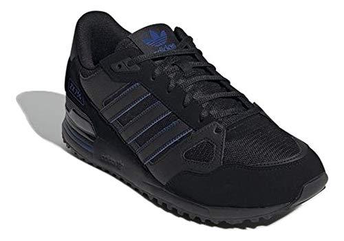 adidas Hombre ZX 750 Zapatillas Negro, 39 1/3