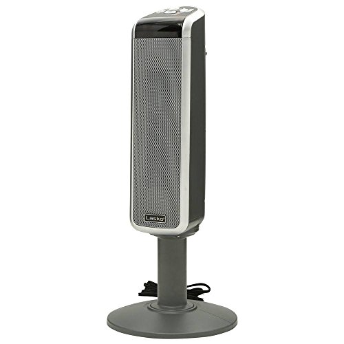 Lasko 5397 Ceramic Pedestal Heater with Remote Control
