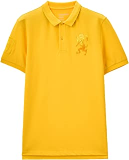 Giordano Men's T-Shirt 3D Lion Polo