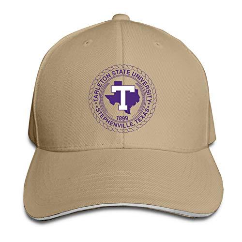 Tarleton State University Logo Hip Hop Baseball Cap Golf Trucker Cap Adjustable Sandwich Hat Dad Hats