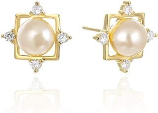 シルバー925 ピアス ジルコニアイヤリング 真珠 イヤリング 優美スタイル 可愛 女性 ピアス 誕生日 記念日 プレゼント