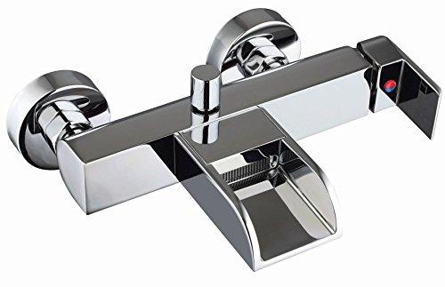 Badarmatur Badewannen Armatur NIL Wasserhahn offener Auslauf Einhandmischer *8931