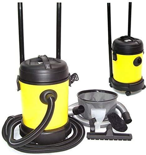 Teichsauger 25l Schlammsauger Trockensauger Filter Pool Reiniger Sauger 55098, Poolsauger Schwimmbadreiniger AWZ