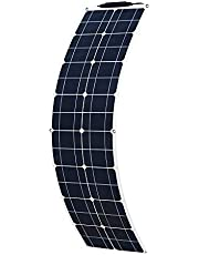 XINPUGUANG 50W 18V Flexible Solar Panel Monocrystalline Silicon Module For Boat Car Camper Yacht 12V Battery Energy Charger (50W)